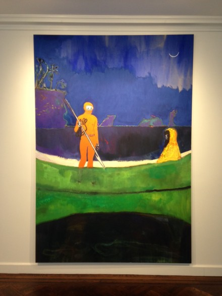 Peter Doig, Spearfishing (2013)