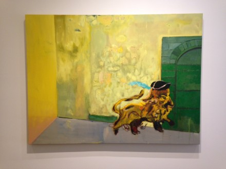 Peter Doig, Young Lion (2015)