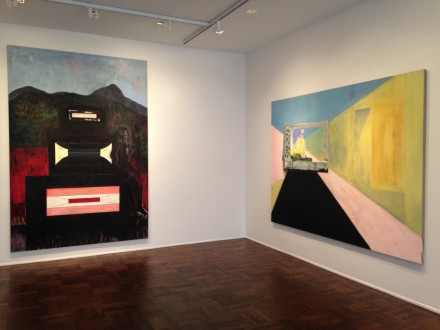 Peter Doig at Michael Werner (Installation View)