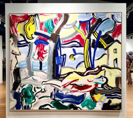 Roy Lichtenstein at Gagosian Gallery