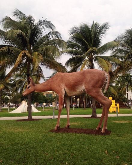 Tony Tasset, Deer (2015)