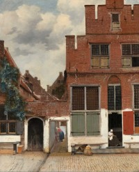 Vermeer Little Street, via Google