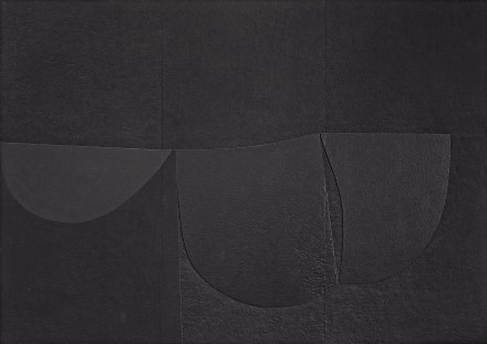 Alberto Burri, Cellotex, (1980–89), Private collection, courtesy Lia Rumma Gallery, Milan and Naples. Photo: Giorgio Benni, courtesy Lia Rumma Gallery, Milan and Naples