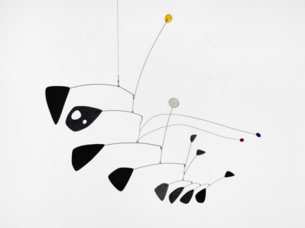 Alexander Calder, Antennae with Red and Blue Dots (1953)