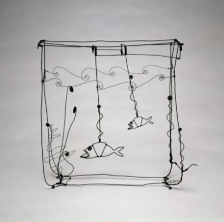 Alexander Calder, Goldfish Bowl (1929)