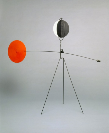 Alexander Calder, Red and Yellow Vane (1934)