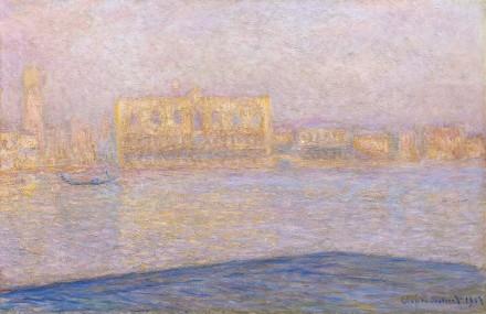 Claude Monet, Le Palais Ducal Vu De Saint-georges Majeur (1908), via Sotheby's