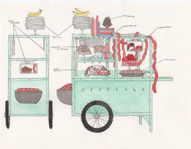 Dana Sherwood, Foodcart for Brasilia (2015)