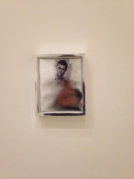Elad Lassry, Portrait 1 (Silver) (2009)