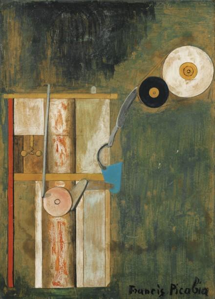 Francis Picabia, Ventilateur (1918), via Sotheby's