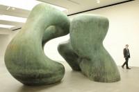 Henry Moore at Gagosian, via Evening Standard