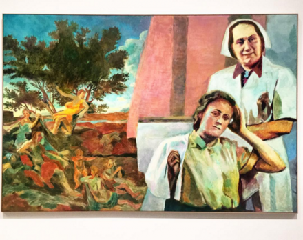 Ilya and Emilia Kabakov, The Two Times #7 (2015), via Art Observed