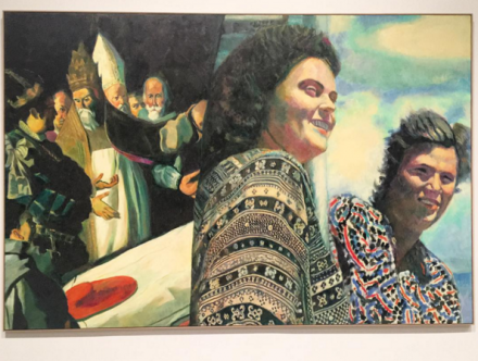 Ilya and Emilia Kabakov, The Two Times #8 (2015), via Art Observed