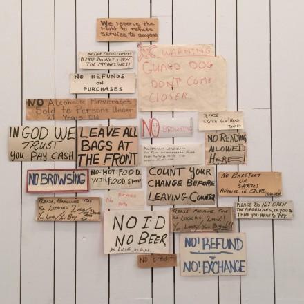 Mark Grotjahn, No No No (1994-5), via Rae Wang for Art Observed
