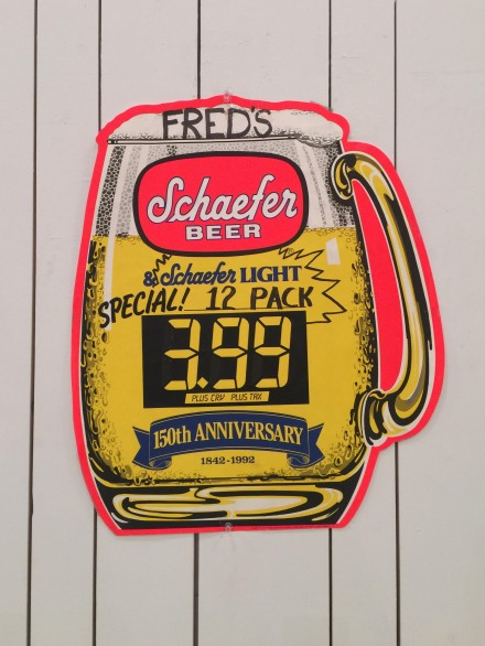 Mark Grotjahn, Schaefer Beer (1994), via Rae Wang for Art Observed.jpg
