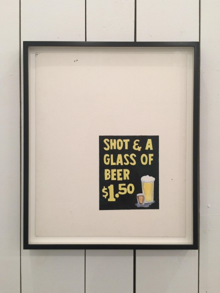 Mark Grotjahn, Untitled (Shot and a Glass of Beer) (1994), via Rae Wang for Art Observed.jpg