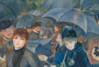 Pierre-Auguste Renoir's The Umbrellas, via The Guardian