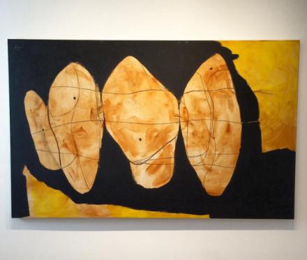Robert Motherwell, Hollow Men Series (1989), via Art Observed