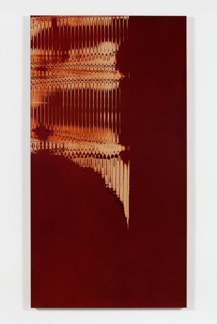 Tauba Auerbach, Grain: Slice/Maille I, (2015)
