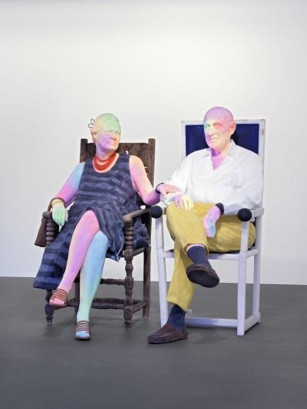 Urs Fischer, Bruno and Yoyo (2015), via Vito Schnabel Gallery