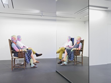 Urs Fischer, Bruno and Yoyo (Installation View), via Vito Schnabel Gallery