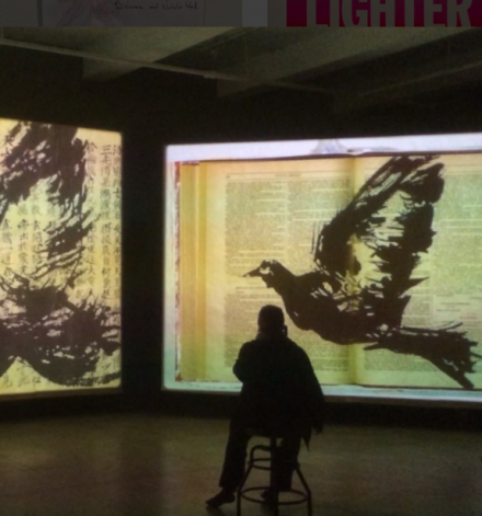 William Kentridge, Notes Toward a Model Opera (2015), via Art Observed