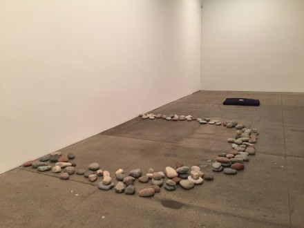 Yoko Ono, THE RIVERBED (Installation View), via Rae Wang for Art Observed