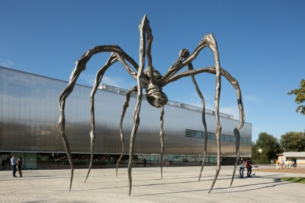 "Louise Bourgeois, ""Maman"" (1999). Collection The Easton Foundation. Installation view at Garage Museum of Contemporary Art, Moscow (2015). Photography by Olga Alekseenko."