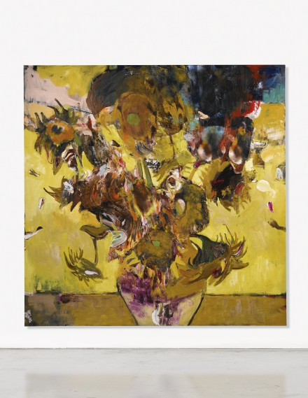 Adrian Ghenie, The Sunflowers in 1937 (2014), via Sotheby's