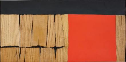 Alberto Burri, Legno (1959), via Phillips
