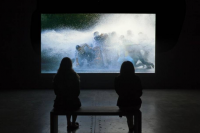 Bill Viola at MoCANoMi, via Miami Herald