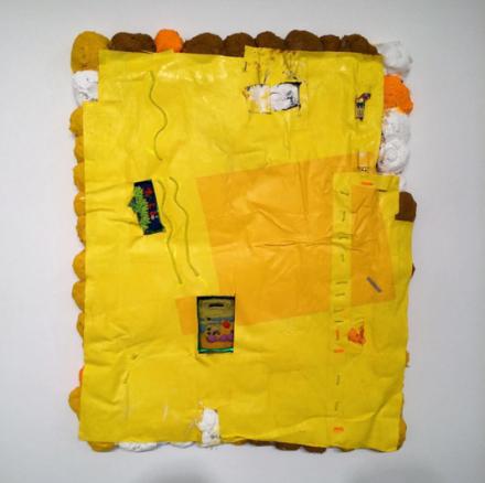 Brian Belott, Gedecktpommer (2015), via Art Observed