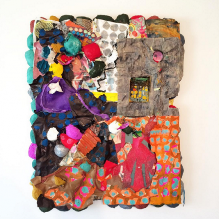Brian Belott, Guckguck (2016), via Art Observed