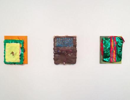 Brian Belott, Puuuuuuuffs (Installation View), via Art Observed