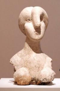 Bust of a Woman, via WSJ