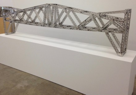 Chris Burden, Antique Bridge, 2003 All images are by Osman Can Yerebakan for Art Observed.