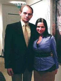 Eric Spoutz and his wife, via NBC