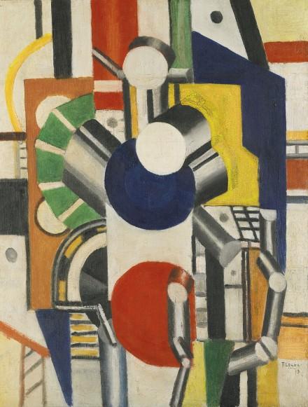 Fernand Léger, Éléments Mécaniques (1919), via Sotheby's