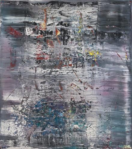 Gerhard Richter, Abstraktes Bild (1990), via Sotheby's