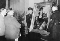 Hitler and Göring, via New Yorker