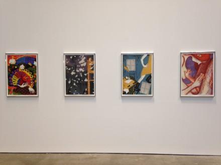 Sanya Kantarovsky The Eccentrics (Installation View)