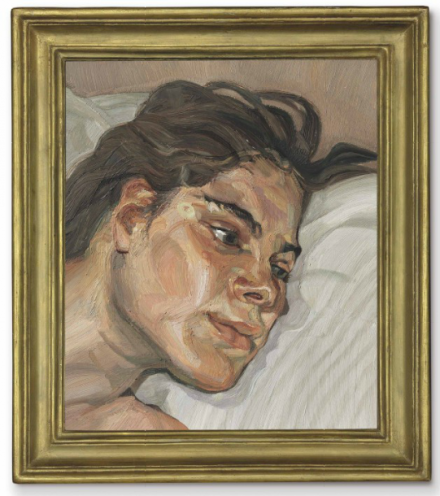 Lucian Freud, Head of Esther (1982-83), via Christie's