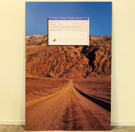 Miguel Fernandez de Castro at Proyecto Paralelo, via Art Observed