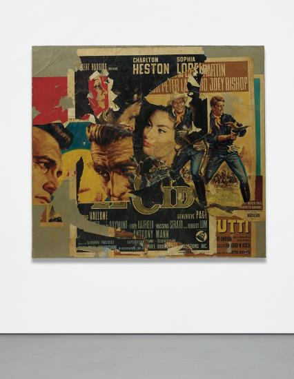Mimmo Rotella, Untitled (1964), via Phillips
