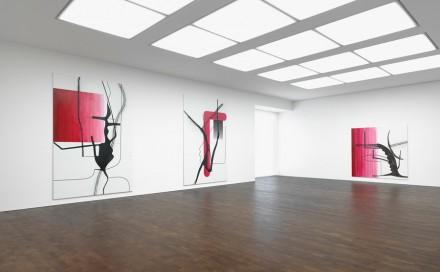 Oehlen-Installation View-Gagosian