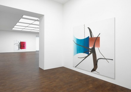 Albert Oehlen (Installation View) All images Courtesy the Gagosian Gallery