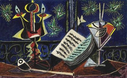 Pablo Picasso, Nature Morte (1937), via Christie's