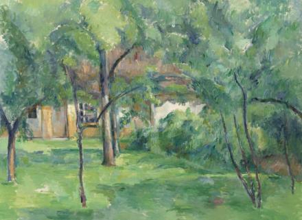 Paul Cézanne, Ferme en Normandie, été (Hattenville) (1882), via Christie's