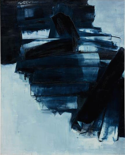 Pierre Soulages, Peinture 162 x 130 cm, 14 Avril 1962 (1962), via Phillips