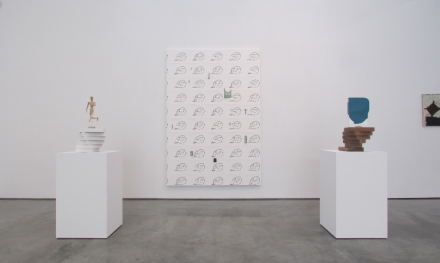Richard Aldrich, Time Stopped, Time Started (Installation View), via Rae Wang for Art Observed